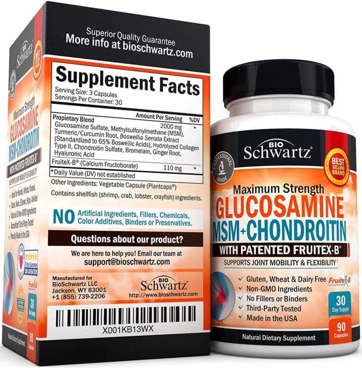 Bioschwartz Joint Formula Supplement