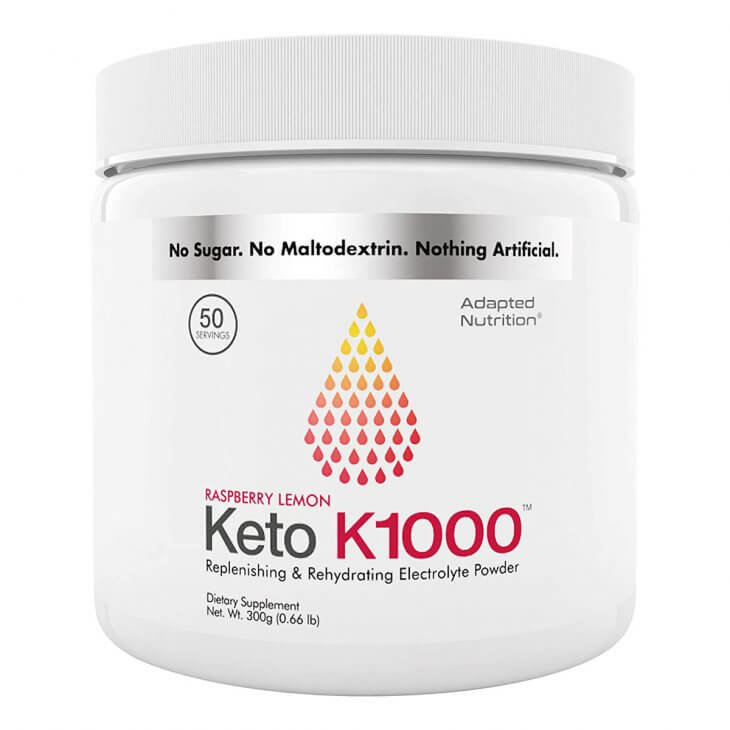 Keto K1000 Electrolyte Powder
