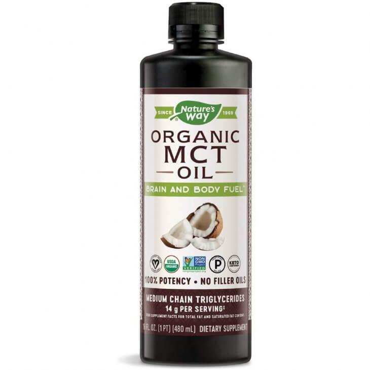 Natures Way Organic Mct Oil