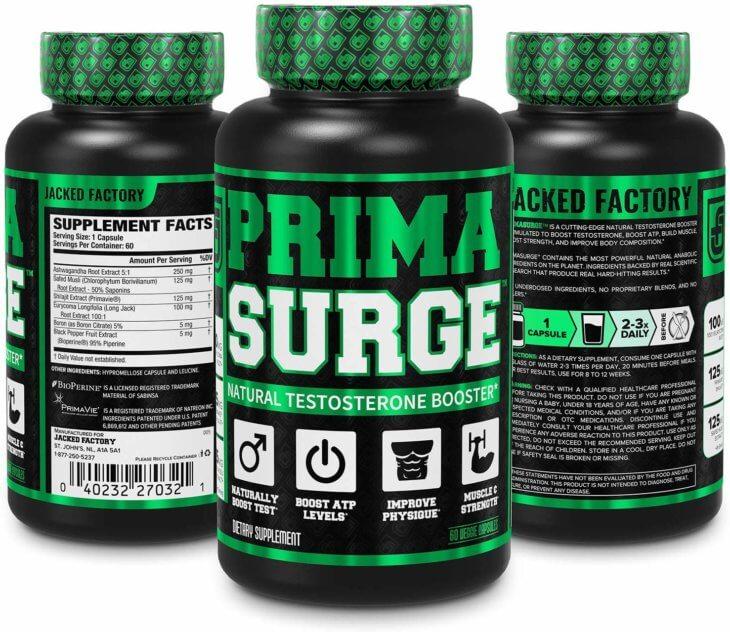 Primasurge Testosterone Booster For Men