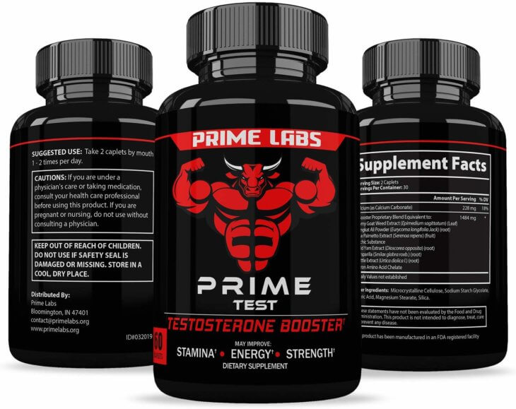 Prime Labs Mens Test Booster