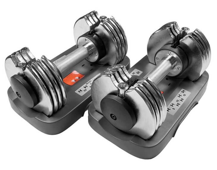 bayou fitness adjustable dumbbells