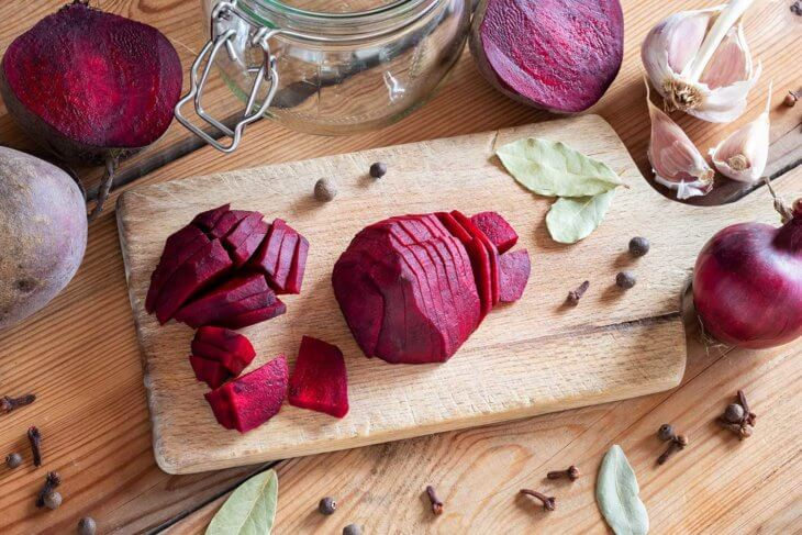 Blood Flow Foods Beets Garlic