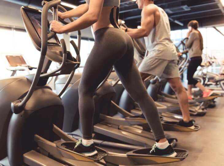 Elliptical Machine Gym Workout Benefits