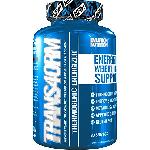 evlution trans4orm fat burner