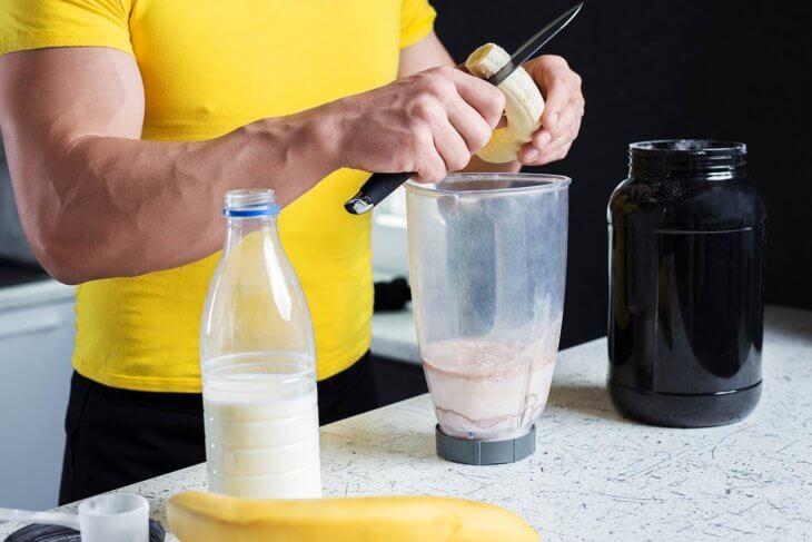 protein supplement powder blender