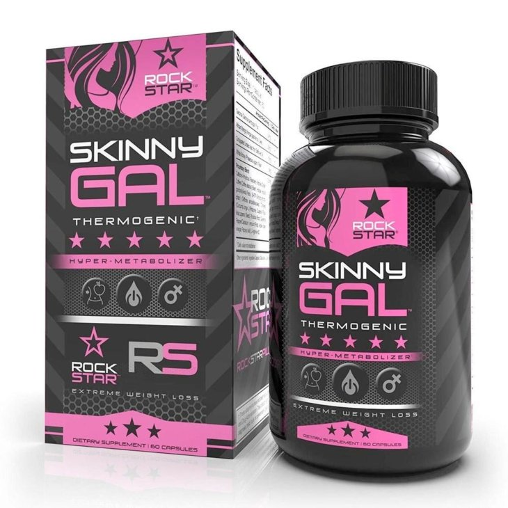 rockstar skinny gal weight loss