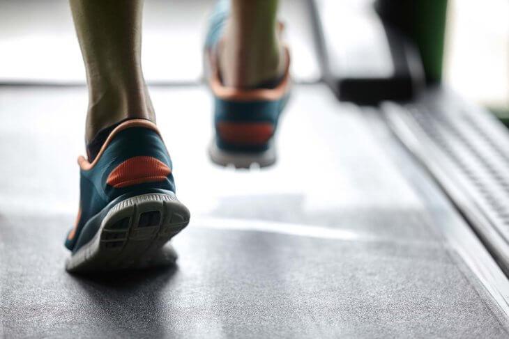 Running Foot Heel Strike