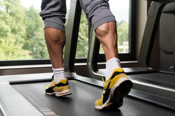 running muscular development