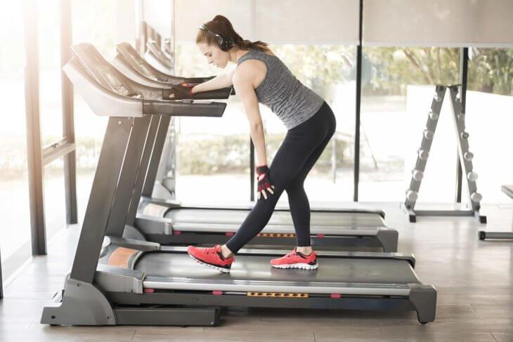 Running Treadmill Stretch