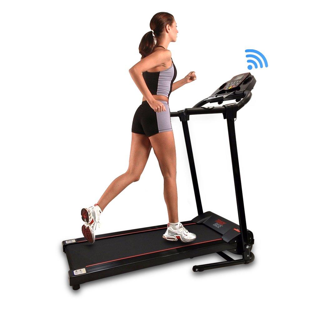 serenelife smart digital treadmill