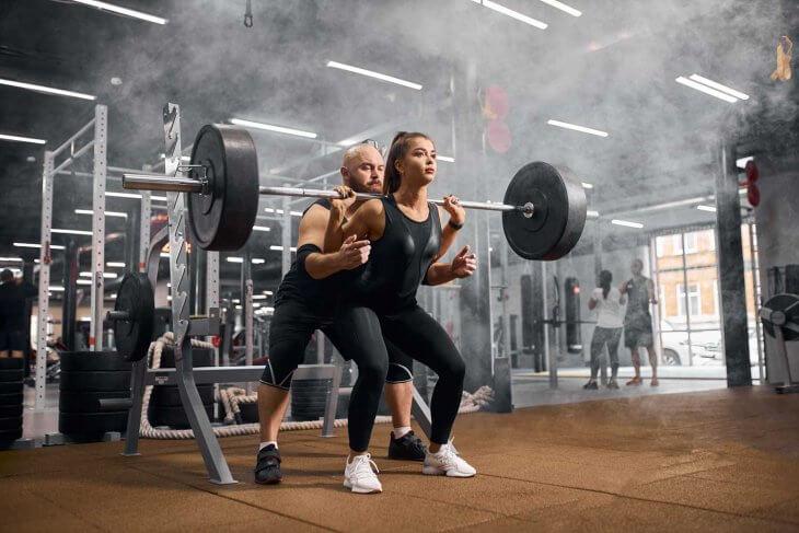 Squat With Trainer
