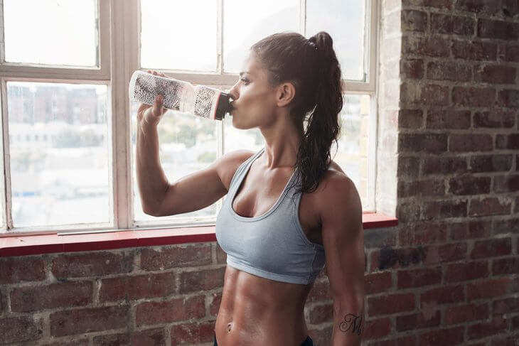 staying hydrated gym