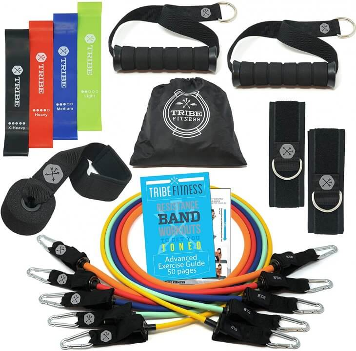 Tribe Fitness Resistance Bands