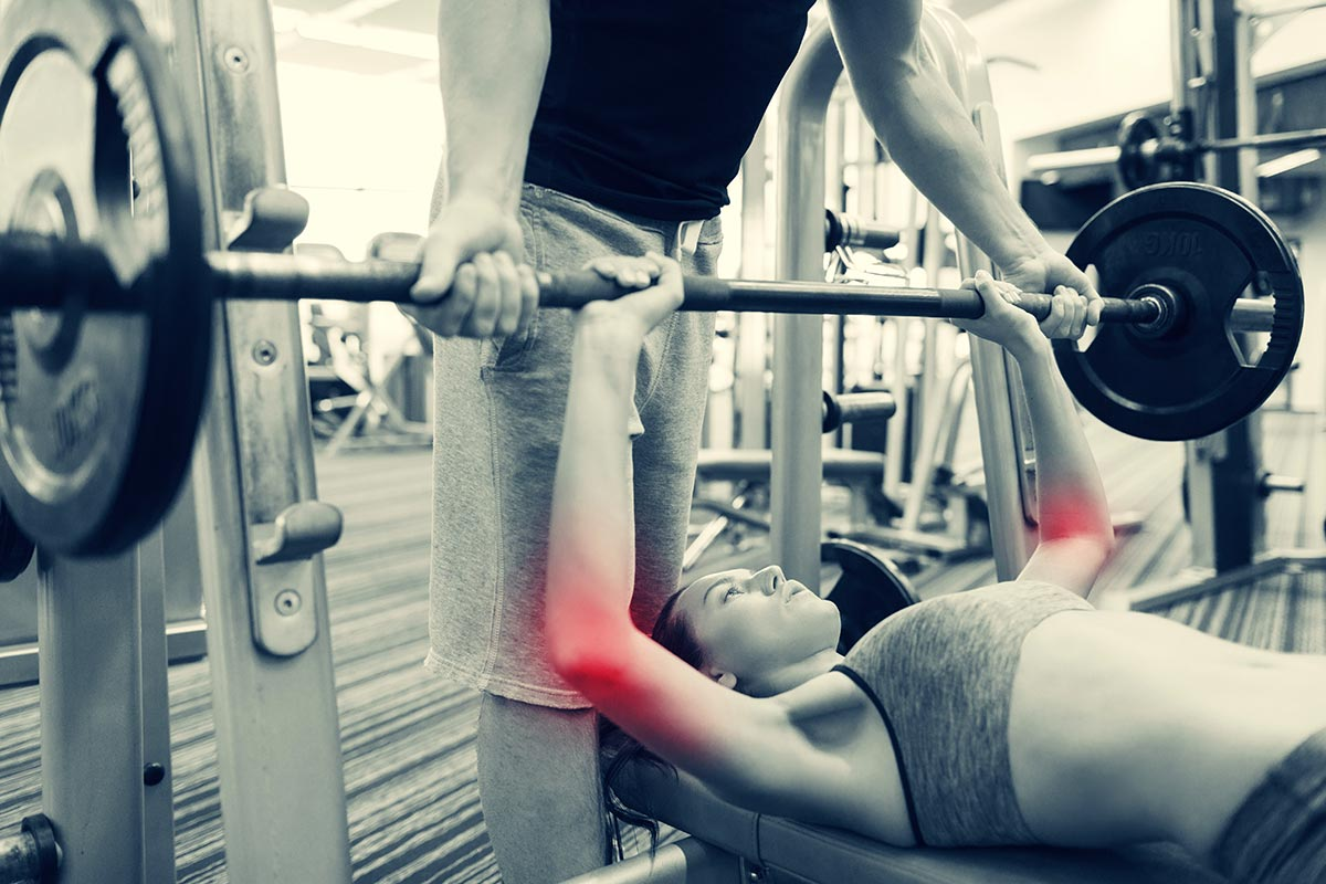 weightlifting joint pain
