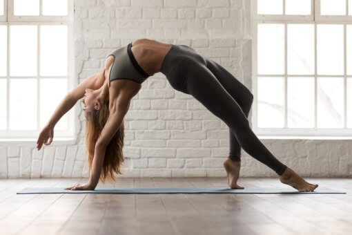 Yoga Poses Increased Flexiblity