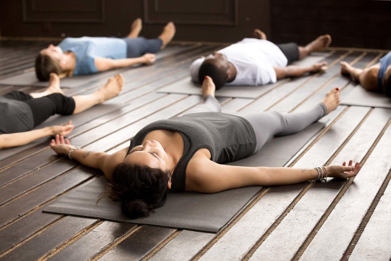 Yoga Savasana Stress Anxiety